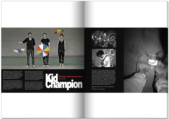 Kid Champion small Magazine: K | C