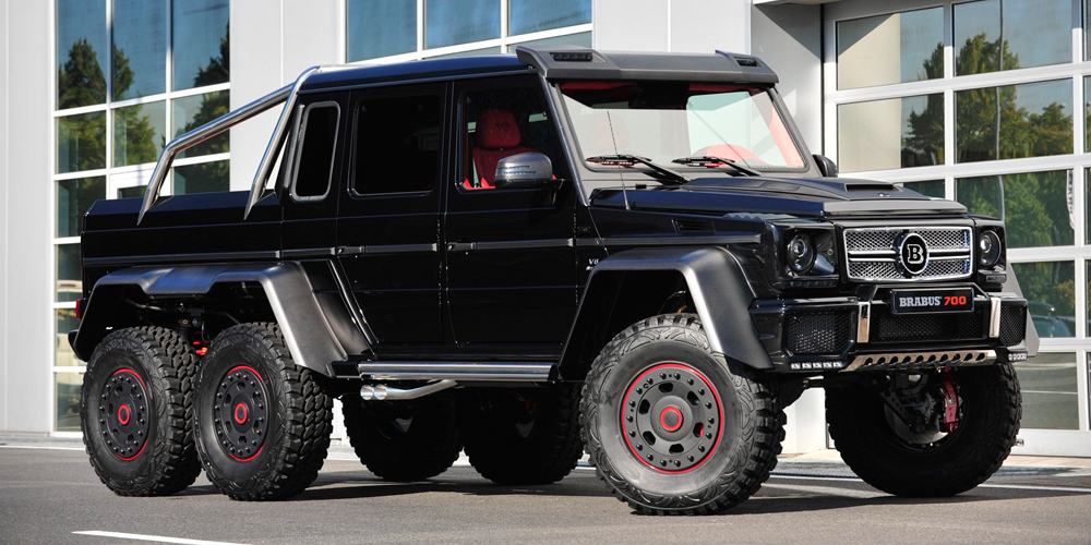 mercedes benz g63 brabus - photo #4